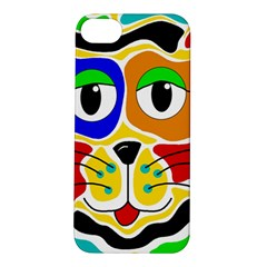 Colorful cat Apple iPhone 5S/ SE Hardshell Case
