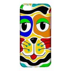 Colorful cat Apple iPhone 5C Hardshell Case