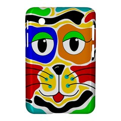 Colorful cat Samsung Galaxy Tab 2 (7 ) P3100 Hardshell Case