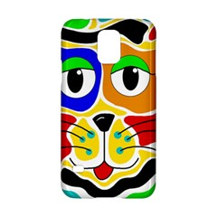 Colorful cat Samsung Galaxy S5 Hardshell Case