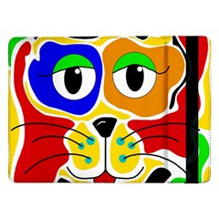 Colorful cat Samsung Galaxy Tab Pro 12.2  Flip Case