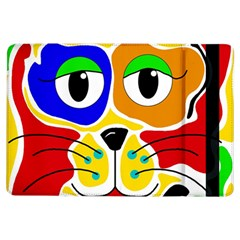 Colorful cat iPad Air Flip