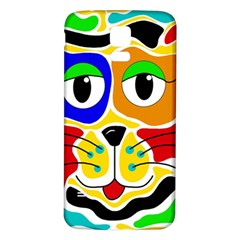 Colorful cat Samsung Galaxy S5 Back Case (White)