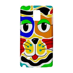 Colorful cat Samsung Galaxy Note 4 Hardshell Case