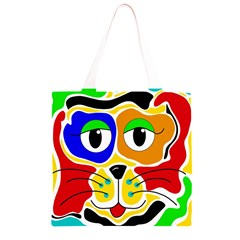 Colorful cat Grocery Light Tote Bag