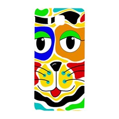 Colorful cat Samsung Galaxy Alpha Hardshell Back Case