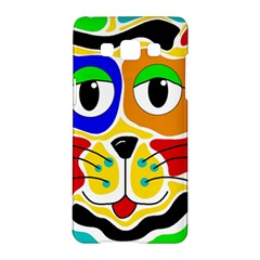 Colorful cat Samsung Galaxy A5 Hardshell Case