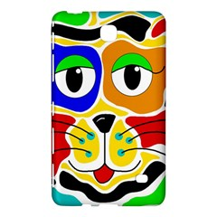 Colorful cat Samsung Galaxy Tab 4 (7 ) Hardshell Case