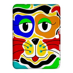 Colorful cat Samsung Galaxy Tab 4 (10.1 ) Hardshell Case