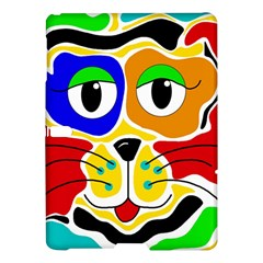 Colorful cat Samsung Galaxy Tab S (10.5 ) Hardshell Case