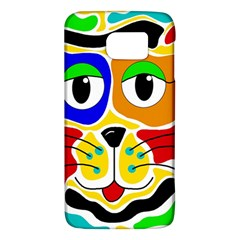 Colorful cat Galaxy S6