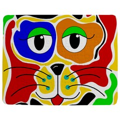 Colorful cat Jigsaw Puzzle Photo Stand (Rectangular)