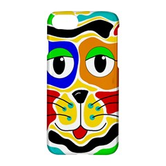 Colorful cat Apple iPhone 7 Hardshell Case
