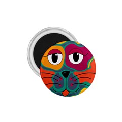 Colorful cat 2  1.75  Magnets