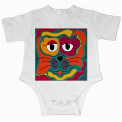 Colorful cat 2  Infant Creepers