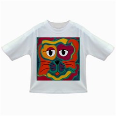 Colorful cat 2  Infant/Toddler T-Shirts