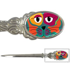 Colorful cat 2  Letter Openers