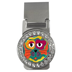 Colorful cat 2  Money Clips (CZ)
