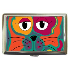 Colorful cat 2  Cigarette Money Cases