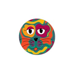 Colorful cat 2  Golf Ball Marker (4 pack)