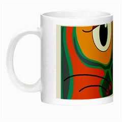 Colorful cat 2  Night Luminous Mugs