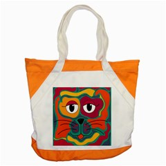 Colorful cat 2  Accent Tote Bag