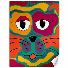 Colorful cat 2  Canvas 36  x 48