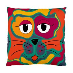 Colorful cat 2  Standard Cushion Case (One Side)