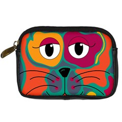 Colorful cat 2  Digital Camera Cases
