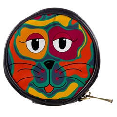 Colorful cat 2  Mini Makeup Bags