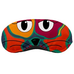 Colorful cat 2  Sleeping Masks