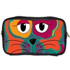 Colorful cat 2  Toiletries Bags 2-Side