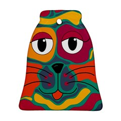 Colorful cat 2  Ornament (Bell)
