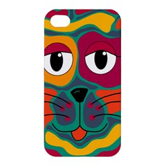 Colorful cat 2  Apple iPhone 4/4S Hardshell Case