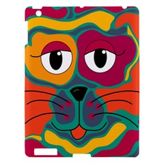 Colorful cat 2  Apple iPad 3/4 Hardshell Case