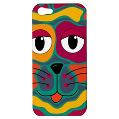 Colorful cat 2  Apple iPhone 5 Hardshell Case