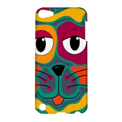 Colorful cat 2  Apple iPod Touch 5 Hardshell Case