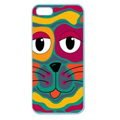 Colorful cat 2  Apple Seamless iPhone 5 Case (Color)