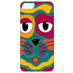 Colorful cat 2  Apple iPhone 5 Classic Hardshell Case