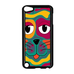 Colorful cat 2  Apple iPod Touch 5 Case (Black)