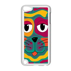 Colorful cat 2  Apple iPod Touch 5 Case (White)