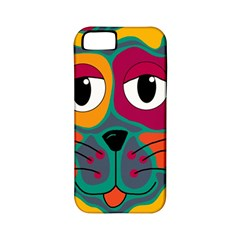 Colorful cat 2  Apple iPhone 5 Classic Hardshell Case (PC+Silicone)
