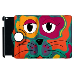 Colorful cat 2  Apple iPad 2 Flip 360 Case