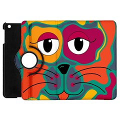 Colorful cat 2  Apple iPad Mini Flip 360 Case