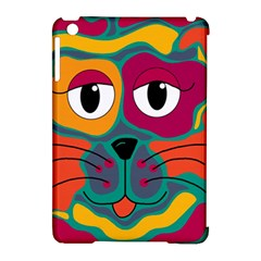 Colorful cat 2  Apple iPad Mini Hardshell Case (Compatible with Smart Cover)