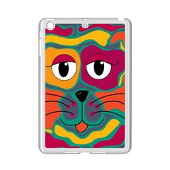 Colorful cat 2  iPad Mini 2 Enamel Coated Cases