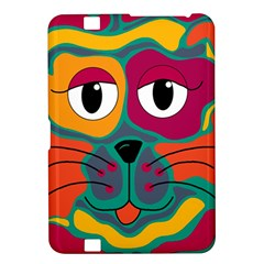 Colorful cat 2  Kindle Fire HD 8.9