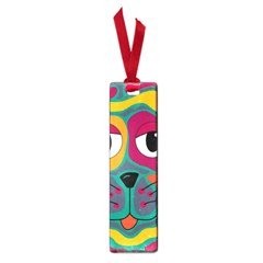 Colorful cat 2  Small Book Marks