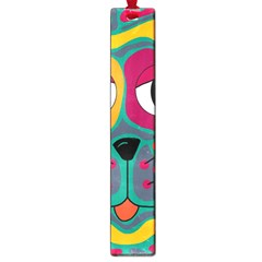 Colorful cat 2  Large Book Marks