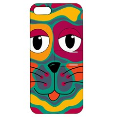 Colorful cat 2  Apple iPhone 5 Hardshell Case with Stand